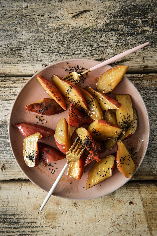 Candied Sweet Potato - Claire Joy Cooks_1