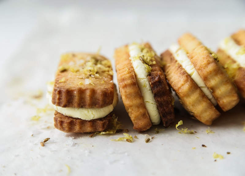 Parmesan and Fennel Cookies | Recipe from the Blue Bottle Coffee | Claire Joy Cooks