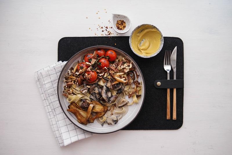 Mushroom, Pecan and Parm Pasta | Claire Joy Cooks | Recipe_2