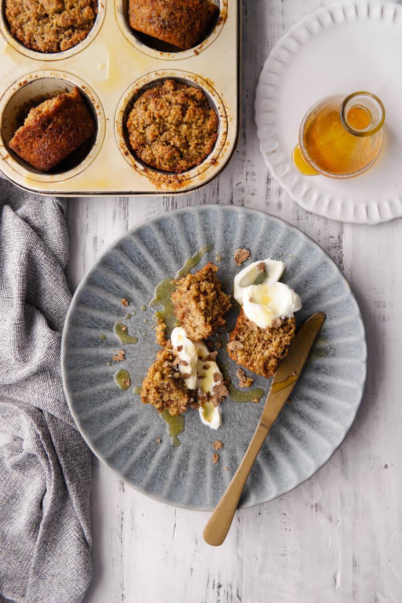 Recipe - Banana, Bran Breakfast 'Pudding' | Claire Joy Cooks | Cape Town | Recipe Developer