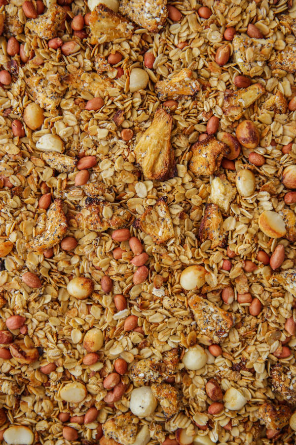 Miso, Pineapple_Grapefruit Granola | Claire Joy Cooks | South Africa 3