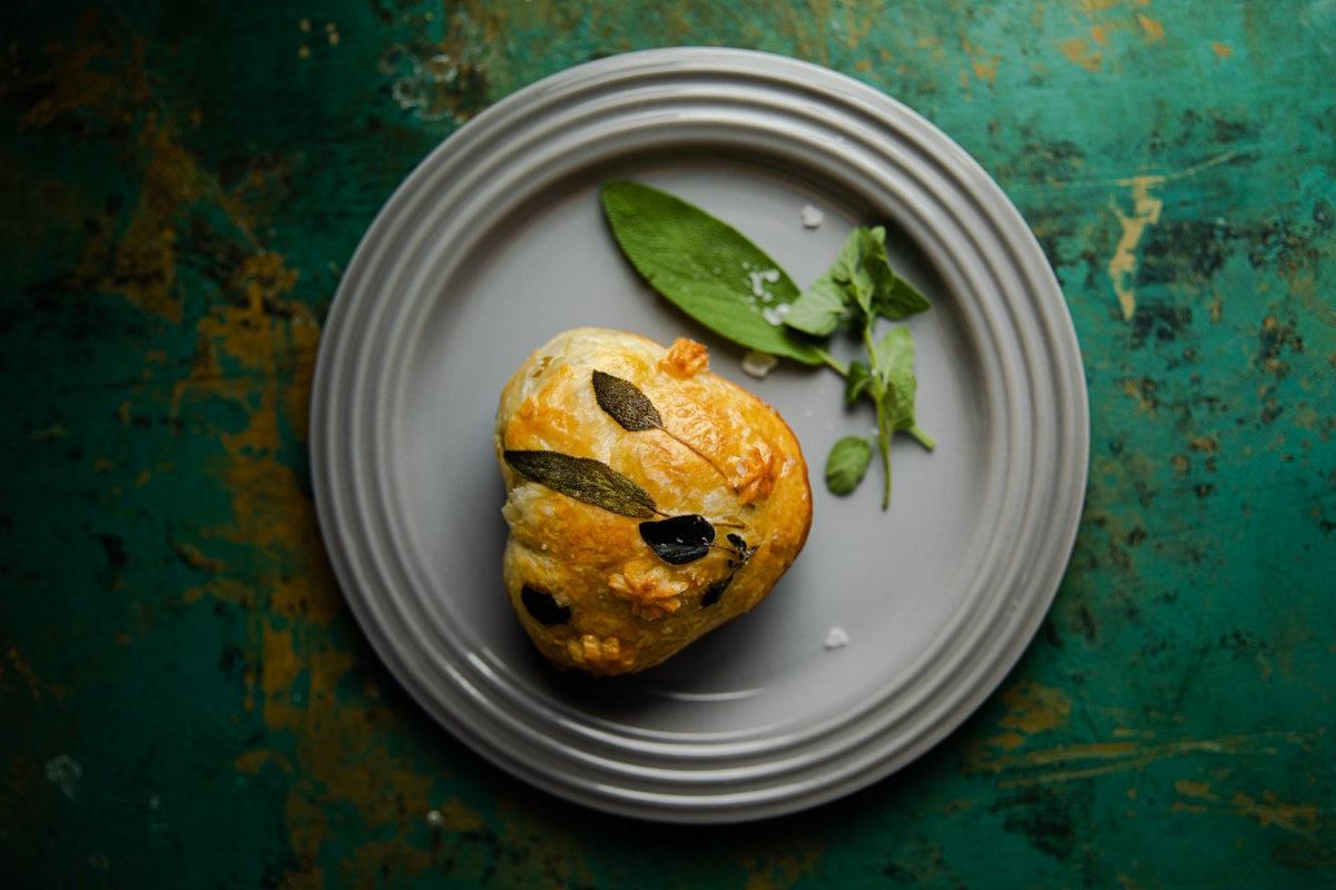 Sweet Potato, Sausage and Sage Pies | Claire Joy Cooks | Recipe Developer
